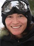 Bibian Mentel Snowboarding